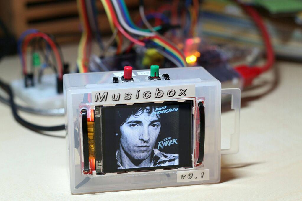 Pi MusicBox - A Spotify, SoundCloud, Google Music player for the